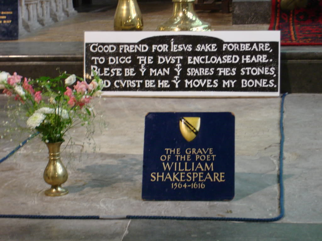 graveofwilliamshakespeare